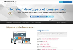 Formateur Web, référencement et PAO